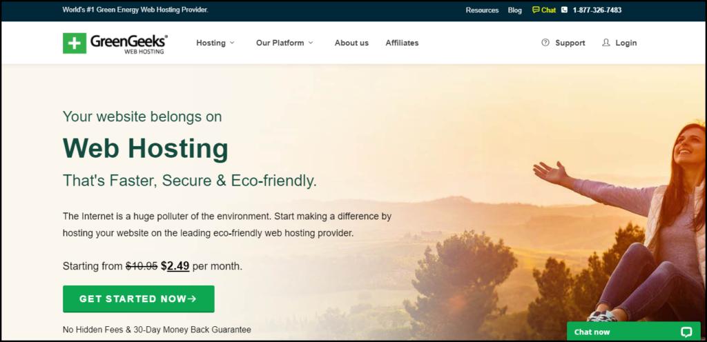 GreenGeeks Hosting Company